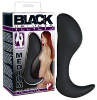 Popsi szex, anál szex / Dildó, vibrátor, butt-plug / Black Velvet análhorog