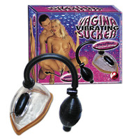 Női kellékek / Mell- és klitorisz pumpák, izgatók / Vibráló vagina szívó