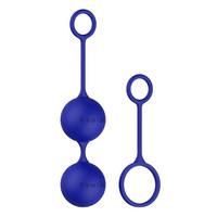 Vibrátor, dildó, műpénisz / Kéjgolyók, tojás vibrátorok / B SWISH - variálható gésagolyó szett (kék)