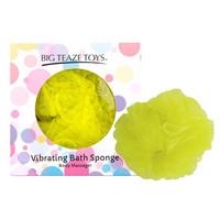 Vibrátor, dildó, műpénisz / Mini vibrátor (rezgő) / Big Teaze Toys - fürdőrózsa minivibrátorral (sárga)