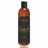 Előjáték, kellékek / Síkosító, masszázs olaj / Intimate Earth Almond - organikus masszázsolaj - méz-mandula (240 ml)