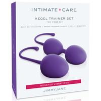 Vibrátor, dildó, műpénisz / Kéjgolyók, tojás vibrátorok / Jimmy Jane Kegel Trainer - 2 részes gésagolyó szett (lila)