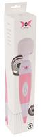 Vibrátor, dildó, műpénisz / Vibrátorok (rezgő vibrátor) / Pixey Pink Wand- hálózati masszírozó vibrátor (pink-fehér)
