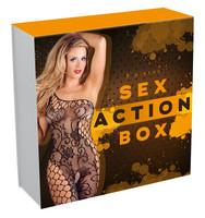 Vibrátor, dildó, műpénisz / Vibrátor készletek / Sex Action Box - vibrátoros csomag pároknak (8 részes)